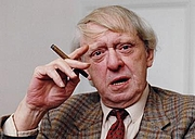"Author photo. courtesy of the <a href=""http://www.anthonyburgess.org/index.htm"">International Anthony Burgess Foundation</a>"