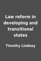 Law reform in developing and transitional…