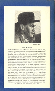 Author photo. Scan of back cover of Penguin Book No.503 (pub.1946). Photo attributed to <i>Tangye Lean.</i>