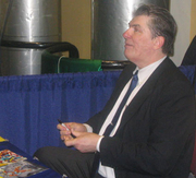 "Author photo. NY Comic-Con 2007 <br>  Copyright © 2007 <a href=""http://ronhogan.tumblr.com"">Ron Hogan</a>"