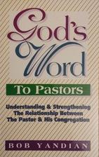 God's Word to Pastors by Bob Yandian