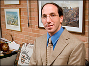 Author photo. Frederick C. Schneid [credit: High Point University]