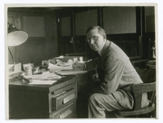 Author photo. Courtesy of the <a href=&quot;http://digitalgallery.nypl.org/nypldigital/id?102804&quot;>NYPL Digital Gallery</a> (image use requires permission from the New York Public Library)