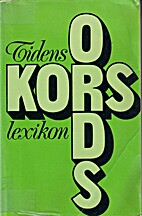 Tidens korsordslexikon by Henry Rolfner