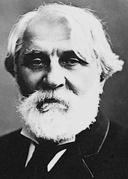 "Author photo. From <a href=""http://en.wikipedia.org/wiki/Image:IvanTurgenev.jpeg"">Wikimedia Commons</a>, Félix NADAR."