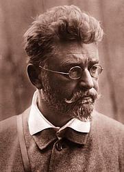 Author photo. Ludwig Ganghofer (1899). Wikimedia Commons.