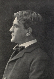 Author photo. Image from <b><i>Little pilgrimages among the men who have written famous books</i></b> (1902) by Edward Francis Harkins