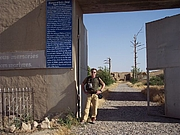 Author photo. Doug Stanton in Afghanistan