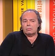 Author photo. Philippe Djian le 17 mars 2017 dans l'émission littéraire TV 'La grande librairie' présentant son dernier ouvrage «Marlène»