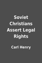 Soviet Christians Assert Legal Rights by…