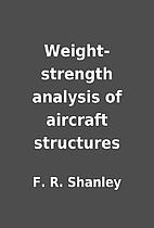 Weight-strength analysis of aircraft…