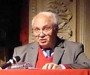 Author photo. Denis Woronoff en septembre 2014 lors d'un colloque international de Saint-Dizier