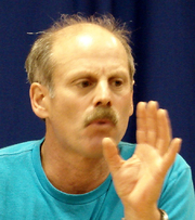 Author photo. John Burlinson, 9/28/08