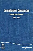 Compilación de conceptos by Alcaldía mayor…