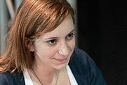 Author photo. Pénélope Bagieu at Aix comics festival 2010