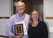 Author photo. Loren Partridge (on left)