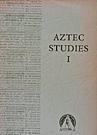 Aztec studies by Summer Institute of…