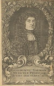 Author photo. from the frontispiece of <i>Ars Chirugia</i>, found at <a href=&quot;http://www.star-dot-star.co.uk/books/WilliamSalmon.html&quot; rel=&quot;nofollow&quot; target=&quot;_top&quot;>star-dot-star.co.uk</a>