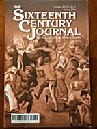 Sixteenth Century Journal Winter 2016