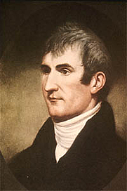 Author photo. Meriwether Lewis (1774-1809) Portrait by Charles Willson Peale, circa 1807