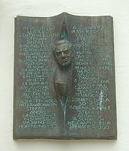 Author photo. Gedenktafel für Stefan Andres am Niederprümer Hof in Schweich. Photo by user Schweich / Wikimedia Commons.