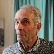 """Author photo. Alain Corbin en mai 2016 pour Le Média Le Maine, rubrique Livre à l'occasion d'un entretien pour la parution de son livre intitulé 'Le silence inspire la peur""""'"""