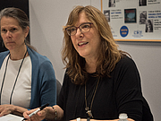 """Author photo. Carolyn Crimi at BookExpo at the Javits Center in New York City, May 2019. By Rhododendrites - Own work, CC BY-SA 4.0, <a href=""""https://commons.wikimedia.org/w/index.php?curid=79387534"""" rel=""""nofollow"""" target=""""_top"""">https://commons.wikimedia.org/w/index.php?curid=79387534</a>"""