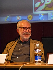 Author photo. By user:.mau. Maurizio Codogno - Autore, CC BY 4.0, <a href=&quot;https://commons.wikimedia.org/w/index.php?curid=35905597&quot; rel=&quot;nofollow&quot; target=&quot;_top&quot;>https://commons.wikimedia.org/w/index.php?curid=35905597</a>
