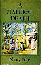A natural death by Nancy Price