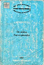 De anima. Parva naturalia by Aristotle