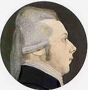 Author photo. Portrait by Wefer van Amsterdam (1804)