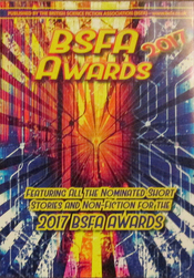 BSFA Awards 2017 booklet cover