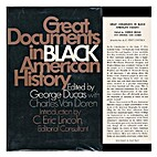 Great documents in Black American history by…