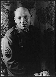 Author photo. Romare Bearden (1911-1988), photographed by Carl Van Vechten, April 15, 1944 (Library of Congress Prints and Photographs Division, Reproduction Number: LC-USZ62-42507)