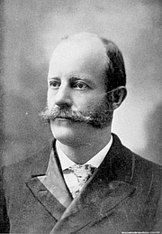 Author photo. Image from <b><i>New era: presenting the plans for the New era union to help develop and utilize the best resources of this country</i></b> (1897) by Charles W. Caryl