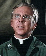 Author photo. William Christopher as Fr Francis Mulcahy in M*A*S*H.