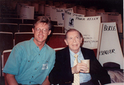 Author photo. Milton Berle (Right) ~ Photo by Alan Light, 1989 (Flickr)