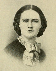 Author photo. Image from <b><i>Reminiscences of a Soldier's Wife</i></b> (1907) by Ellen McGowan Biddle