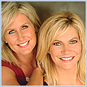 Author photo. Mary Goulet and Heather Reider ~ Photo courtesy of Hay House, Inc.