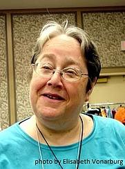 Author photo. photo by Elisabeth Vonarburg