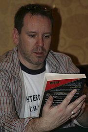"Author photo. Gallifrey One 2008, photo by <A HREF=""http://www.flickr.com/people/pinguino/"">pinguino k</A>"
