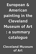 European & American painting in the…
