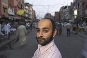 Author photo. Mohsin Hamid, Lahore, 2004. Photo Credit: Ed Kashi.