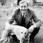 Author photo. Robert Hardy as Siegfried Farnon in All Creatures Great and Small.