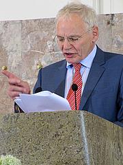 Author photo. Goetz Aly (Preistraeger), 3 Juni 2012 in der Frankfurter Paulskirche zur Verleihung des Ludwig-Boerne-Preises.