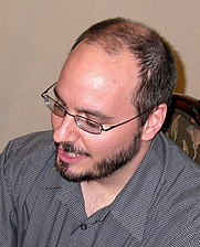 Author photo. John Burlinson, Feb. 9, 2008