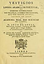 vestigios da lingoa arabica em portugal by…