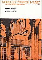 Missa Brevis by Kenneth Leighton