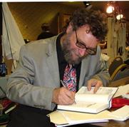 Author photo. Michael Swanwick at Philcon November 2006