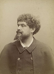 Author photo. Courtesy of the <a href=&quot;http://digitalgallery.nypl.org/nypldigital/id?1158472&quot;>NYPL Digital Gallery</a><br>(image use requires permission from the New York Public Library)